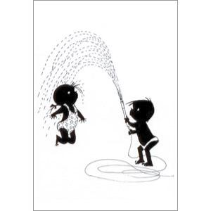 ポストカード 水あそび(FI_PO_00004)