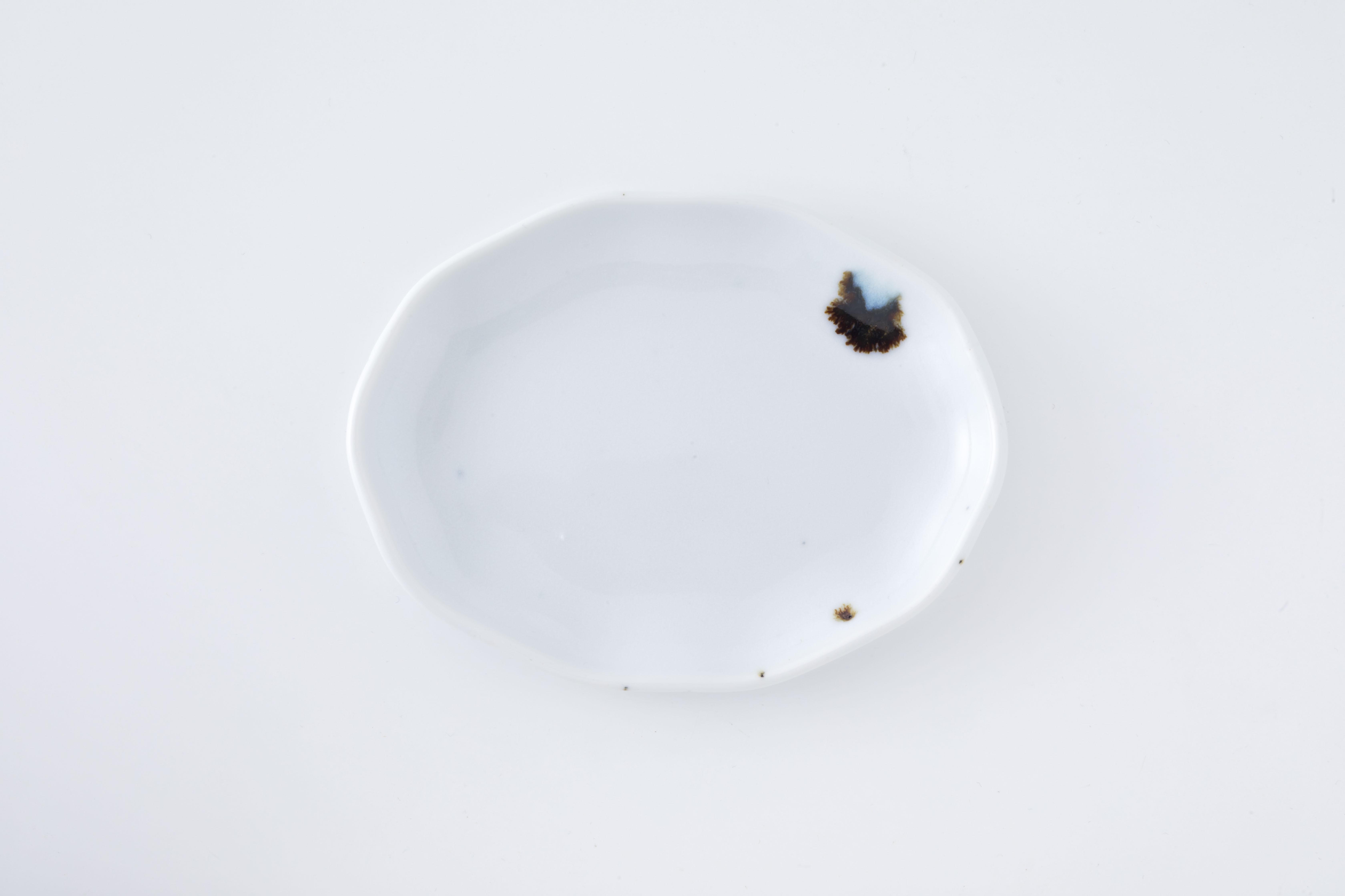 波楕円皿:02 / 人見 和樹