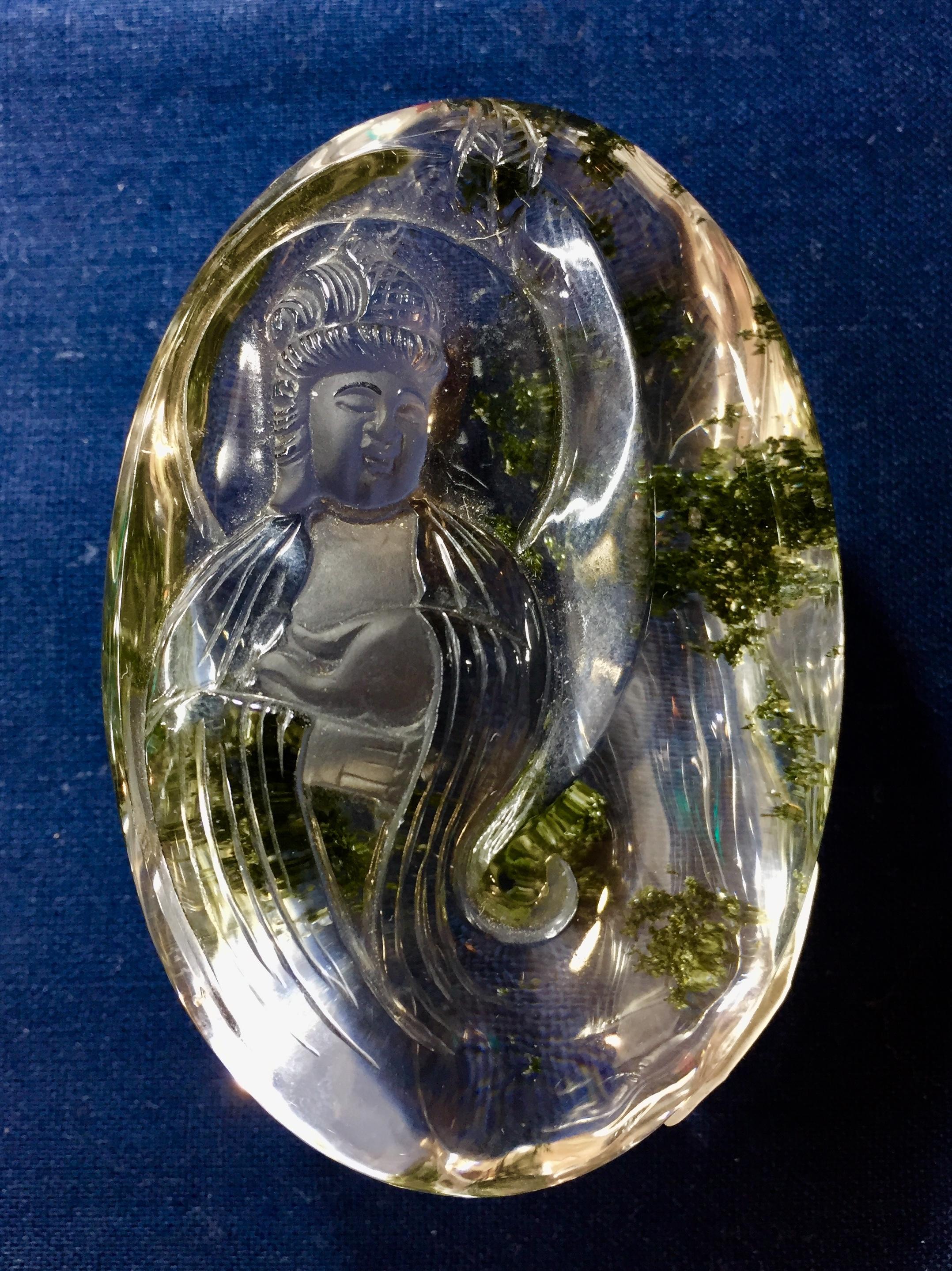 2) 御神仏水晶