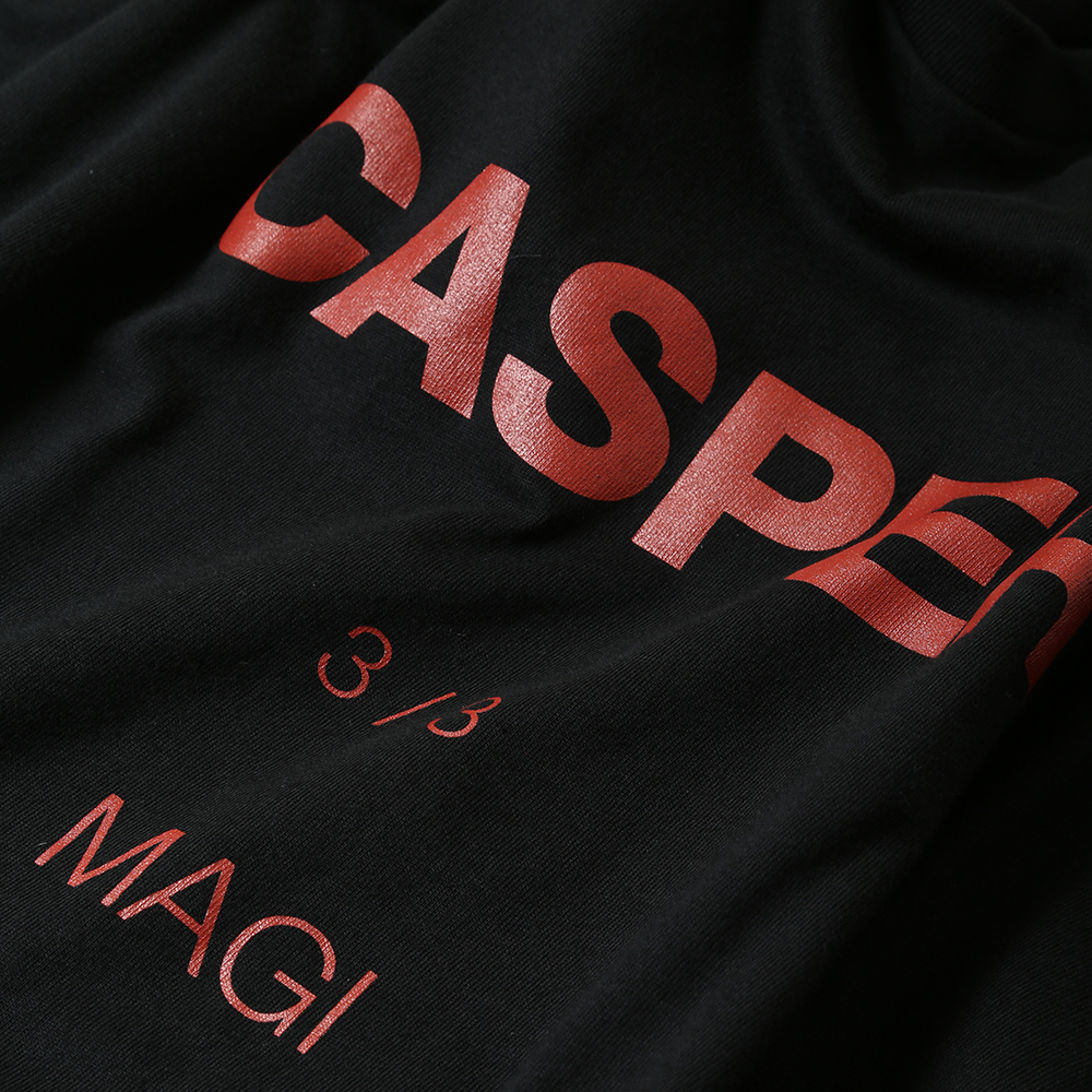 MAGI SYSTEM BIG T-Shirt (CASPER(ブラック)) / RADIO EVA