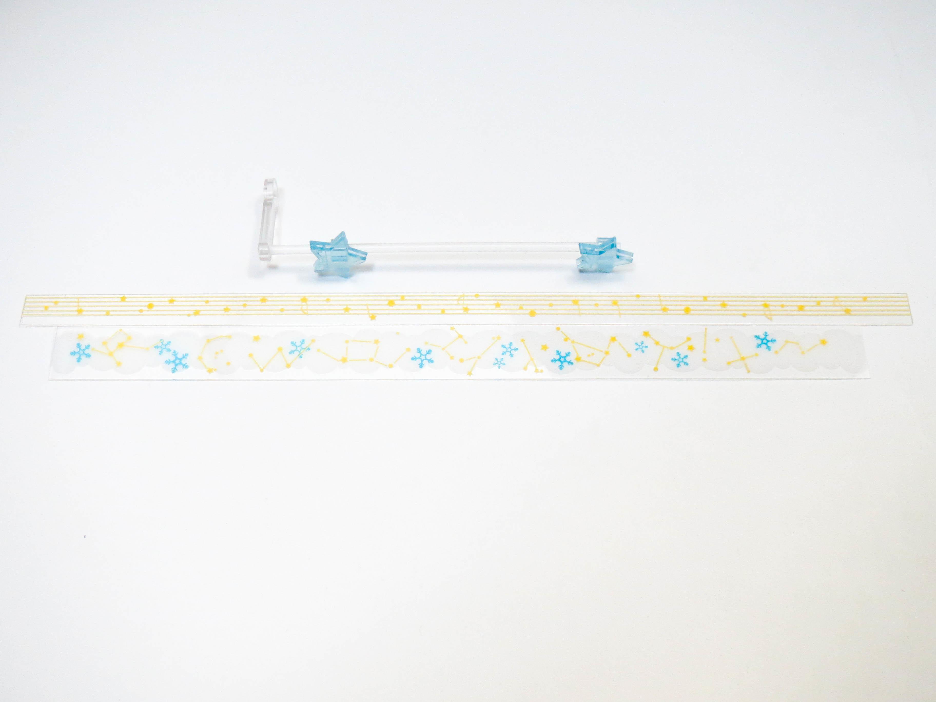 【701】 雪ミク Twinkle Snow Ver. 小物パーツ 音符と星エフェクト ねんどろいど