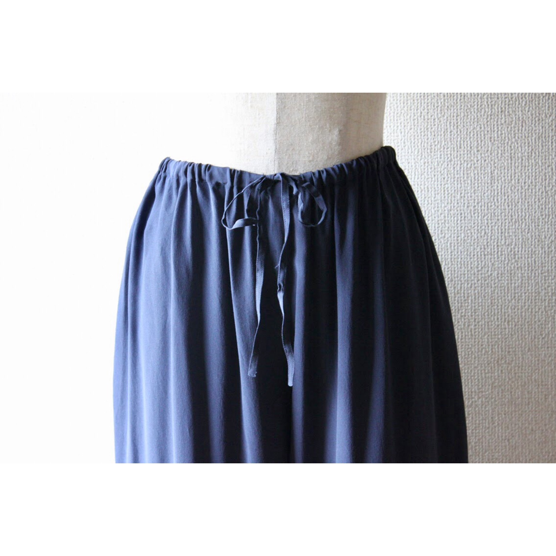 Vintage silk easy pants