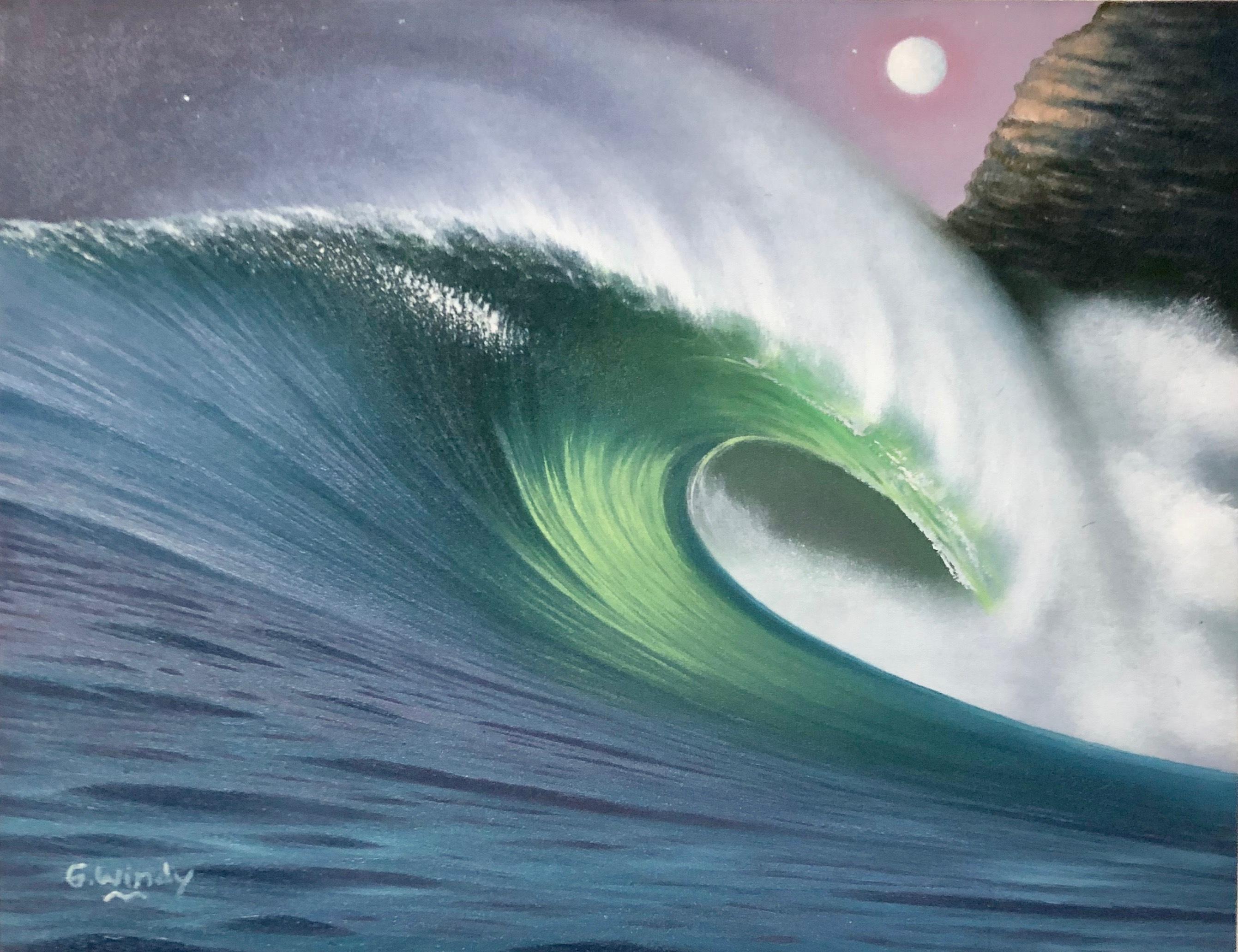 Dreamland Wave Art F6