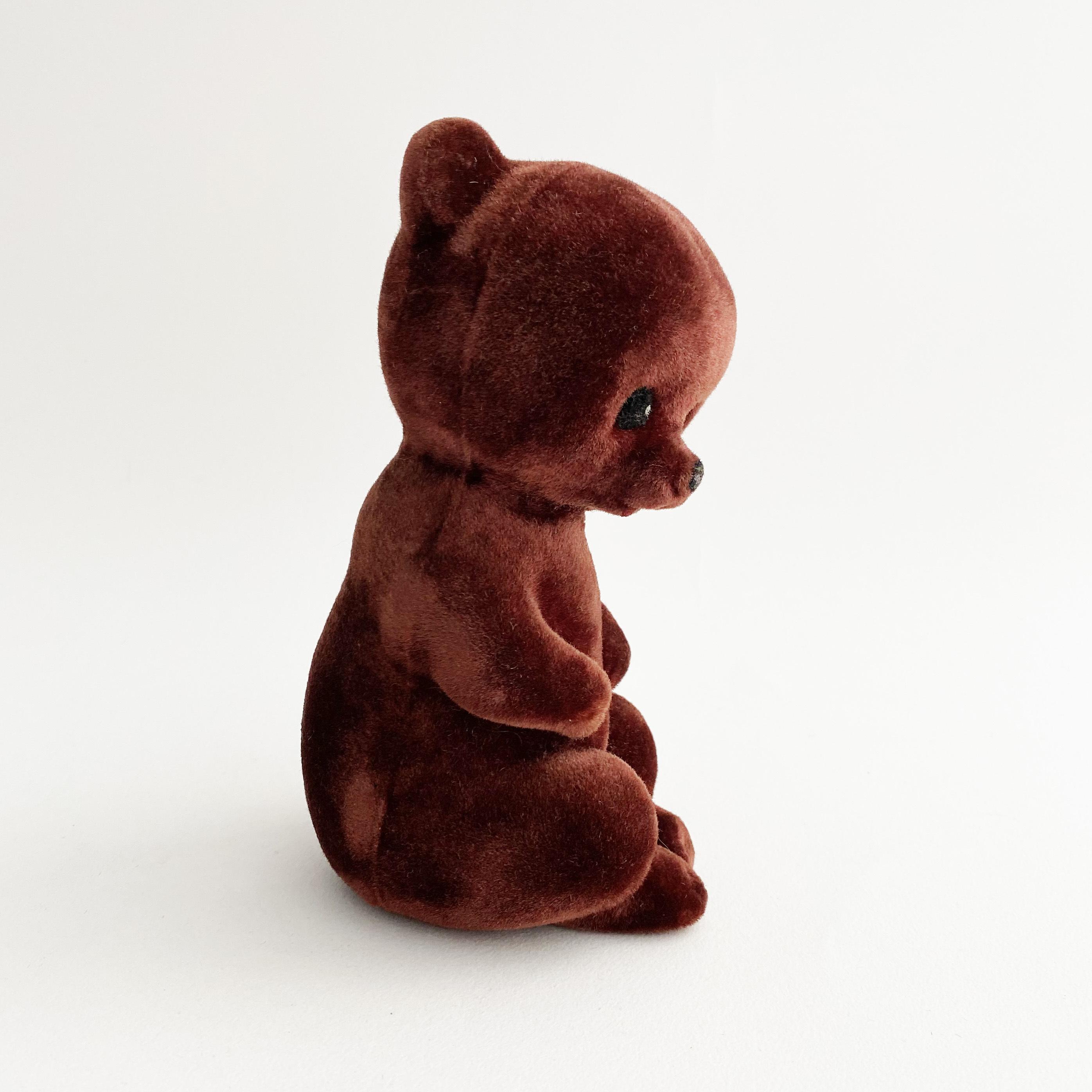 スポンジ人形(クマ/茶)