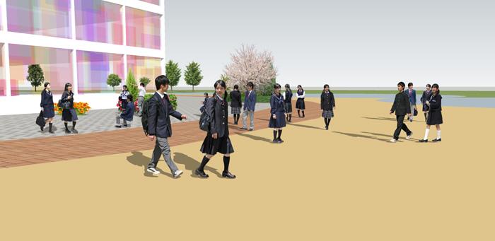 中高生SketchUp素材 4l_007 - 画像3