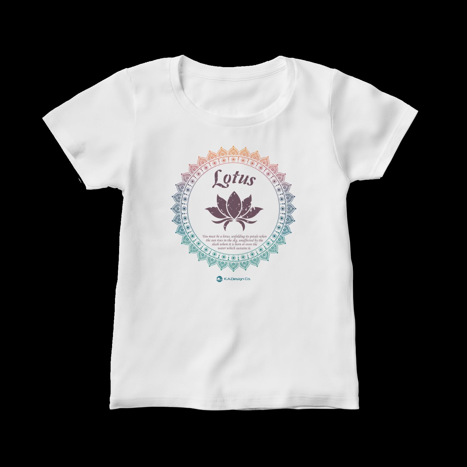 【個別対応】Lady's Lotus Tee