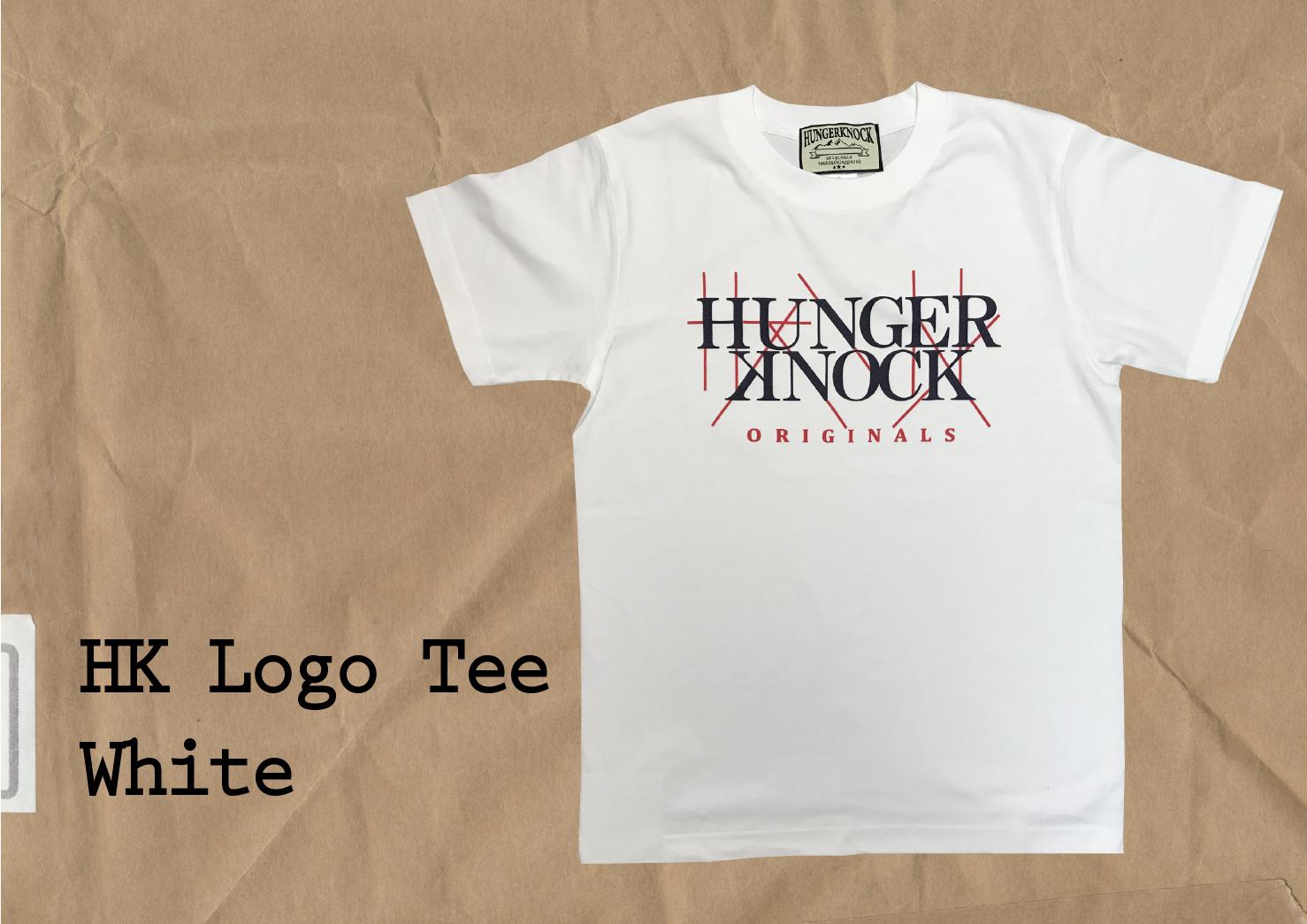 HK Logo Tee / White