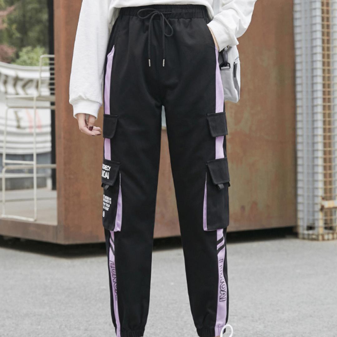 〈リクエストアイテム〉ストリートライン入りカーゴパンツ 【street line cargo pants】