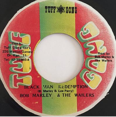 Bob Marley (ボブ・マーリー) & The Wailers (ウェイラーズ) - Black Man Redemption【7'】