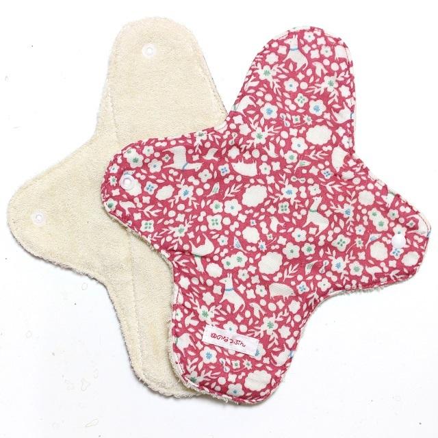 ピンクアルパカ*ホルダー型ナプキン*レギュラーサイズ