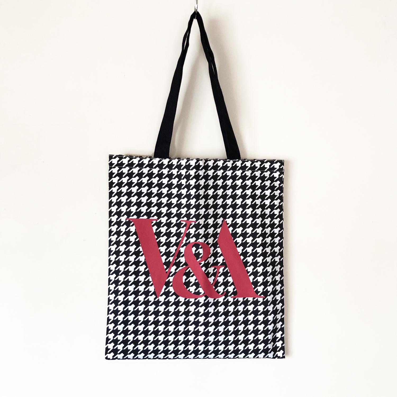 V&A design tote bag / TB-002 WT