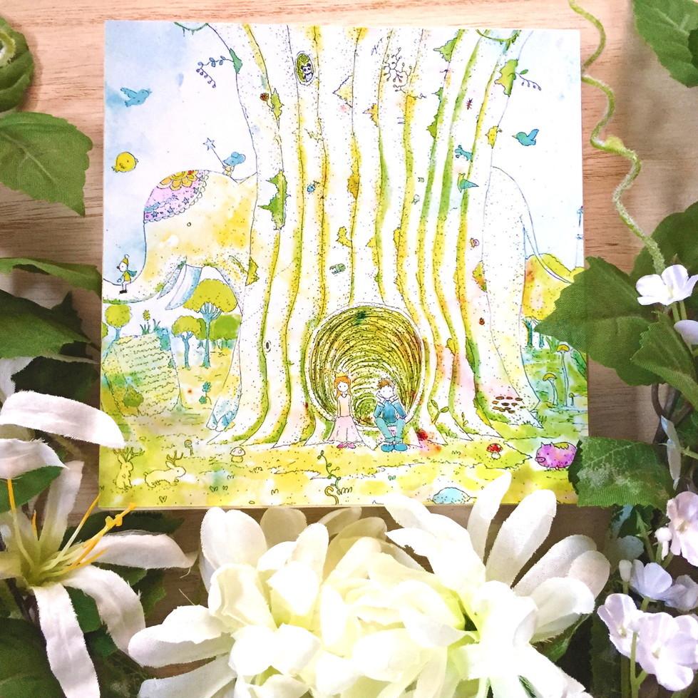 絵画 インテリア アートパネル 雑貨 壁掛け 置物 おしゃれ イラスト ロココロ 画家 : 志摩飛龍 作品 : まだかな。