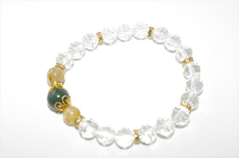 Jade Birthstone(5月誕生石)【パワーストーンブレスレット 】 - 画像2