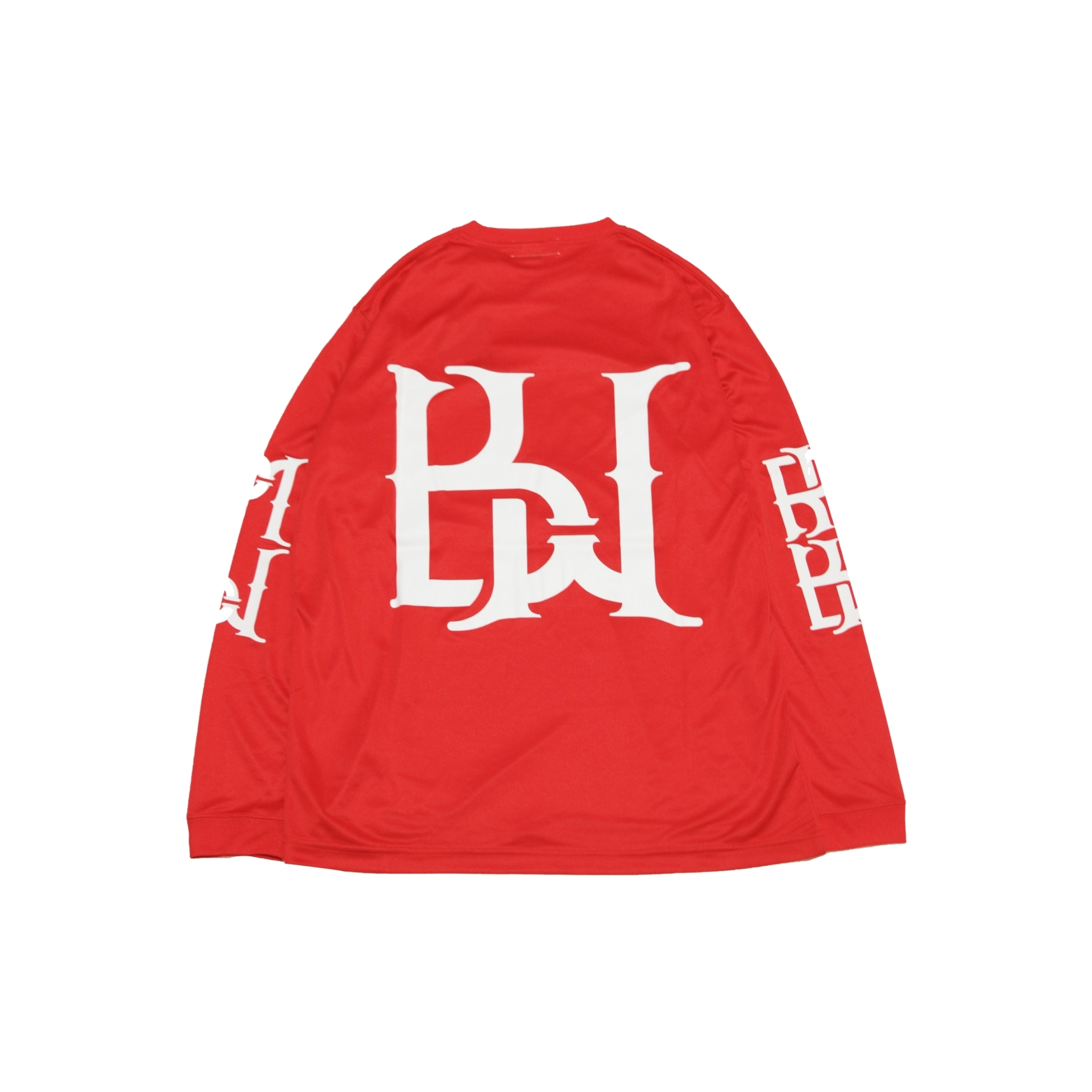 BZSports DRY L/S TEE [RED]
