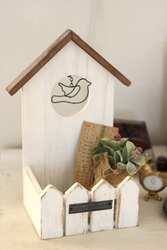 Wooden House Board S*バードハウスプランターボックス/セレクト雑貨
