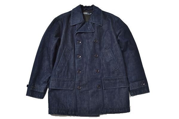 POLO Ralph Lauren sizeM denim coat/blue