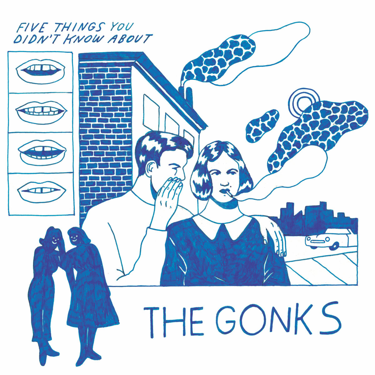 THE GONKS - Five Things You Didn't (LP)