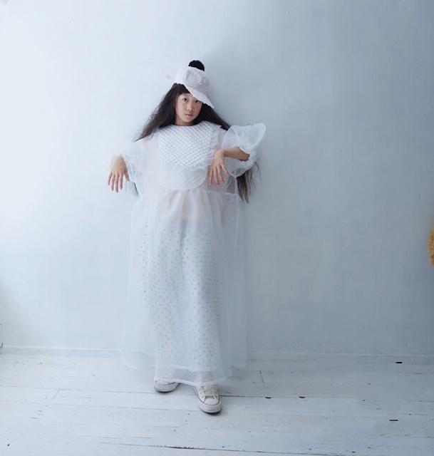 QUILTING STY ORGANDY DRESS / WOMEN