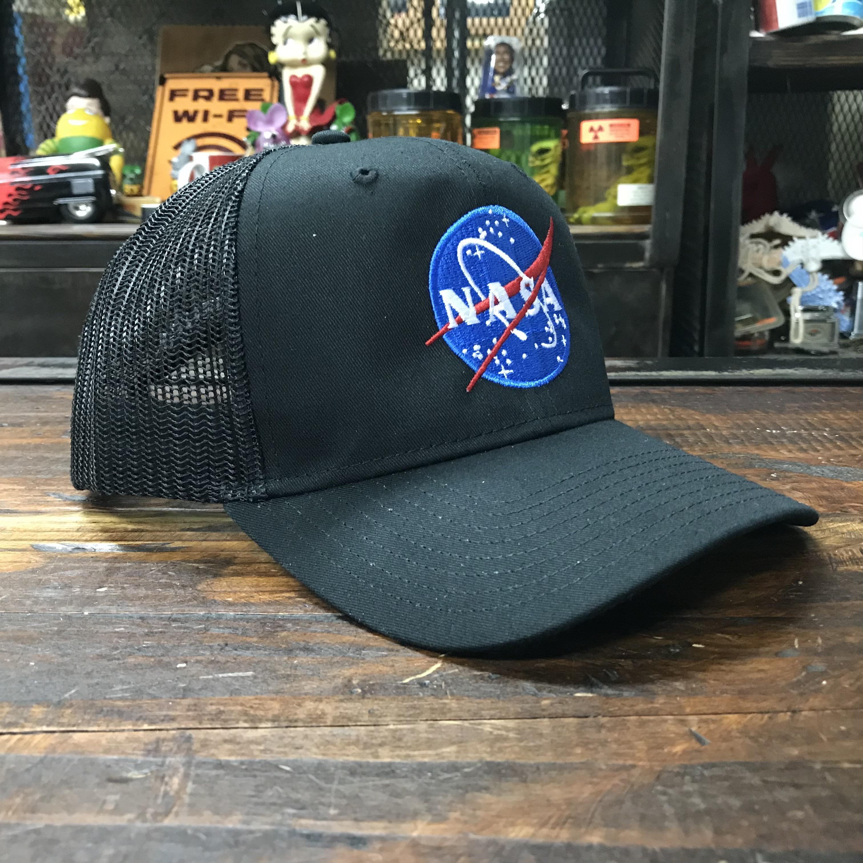 NASA OTTO(オットー)スナップバック・コットンメッシュキャップ・インサイニア(ミートボール)