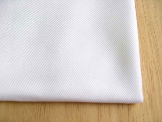 綿 ツイル(織物) スノーホワイト(真っ白) CTM-0093