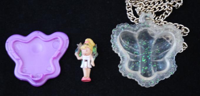 ポーリーポケット チョウチョの妖精 ネックレス1995年