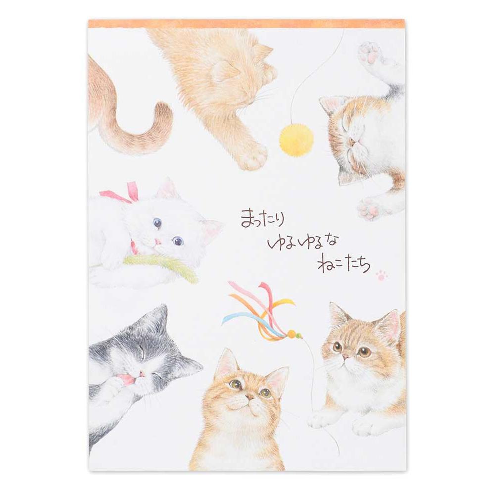 猫便箋(A5まったりネコ)