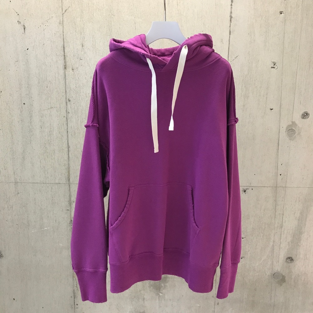 FILL THE BILL COTTON HOODY SWEAT PURPLE