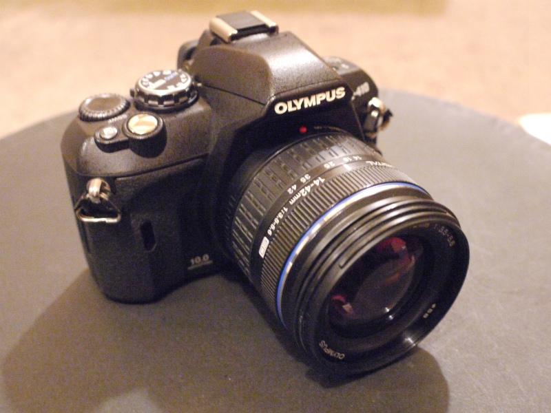 初心者OK OLYMPUSオリンパス E-410 一眼レフ カメラ レンズセット ...