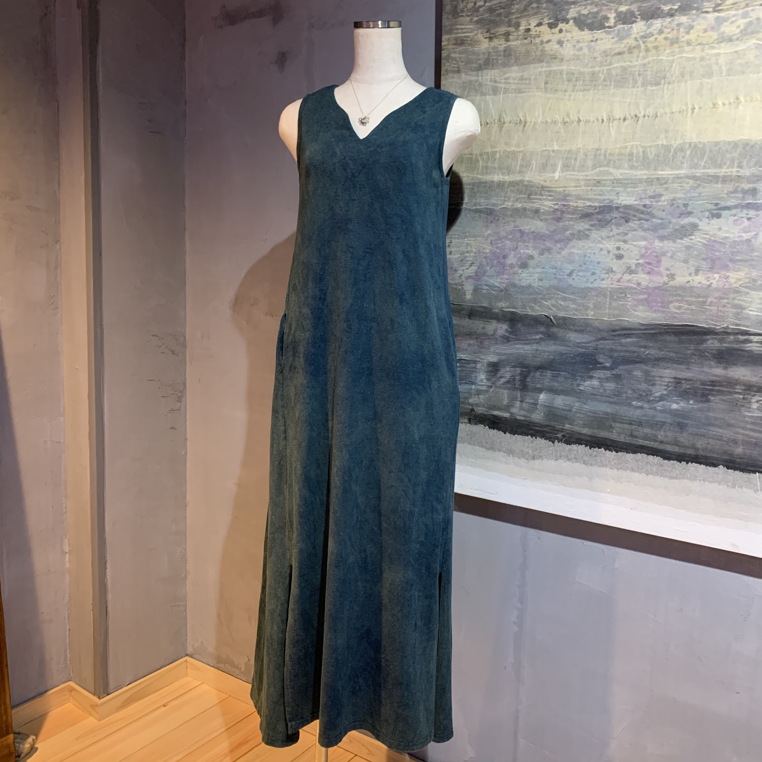 【予約販売受付中】∞One Piece Dress∞ Hemp/OC/Spandex