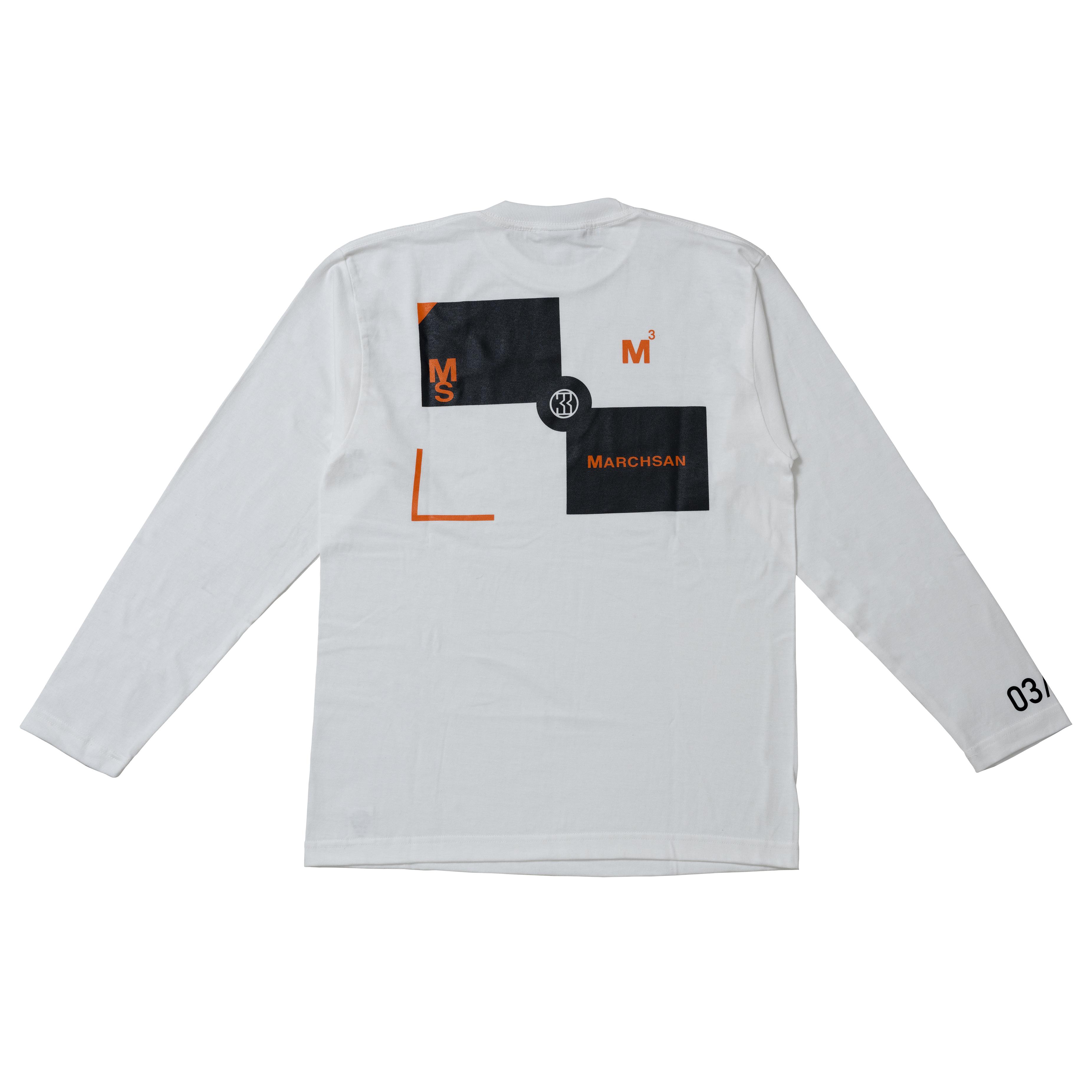 TARGET LongsleeveT-shirt 003(White)