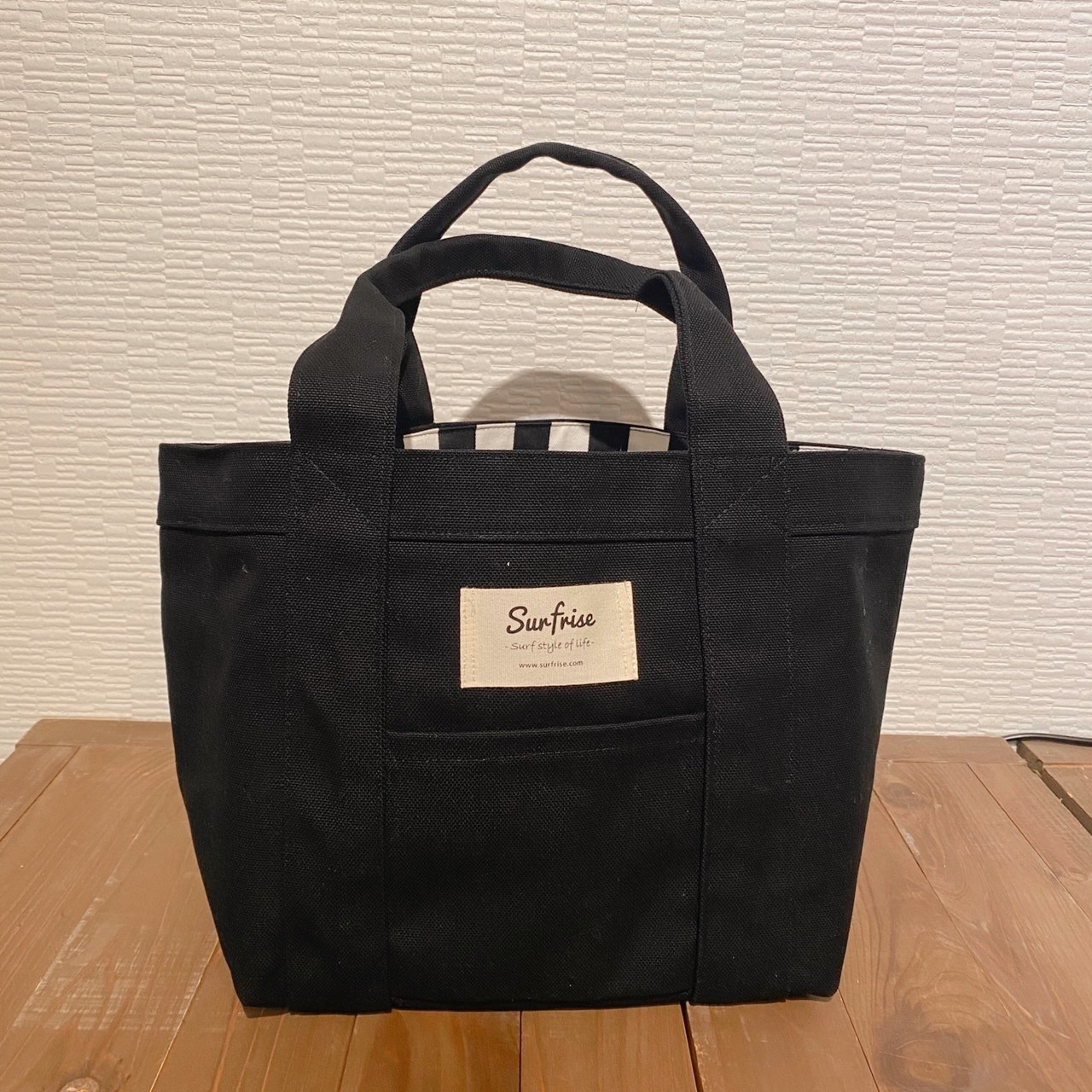 Tote bag S - Black