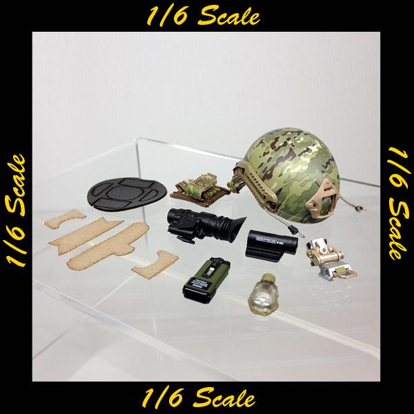 【01257】 1/6 Soldier Story FSF フランス ヘルメット