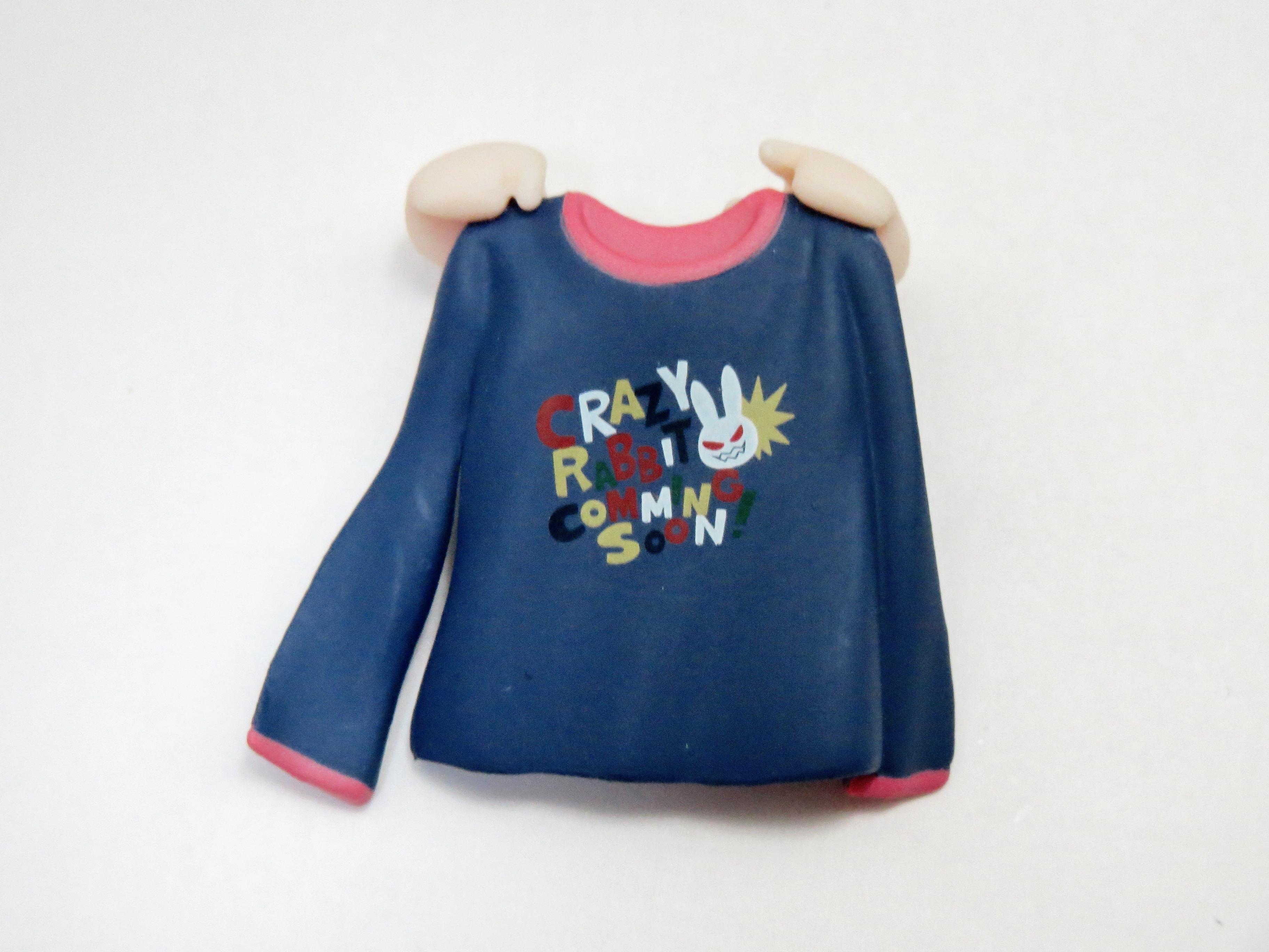 【SALE】【241】 小鳥遊美羽 小物パーツ ロングTシャツ ねんどろいど