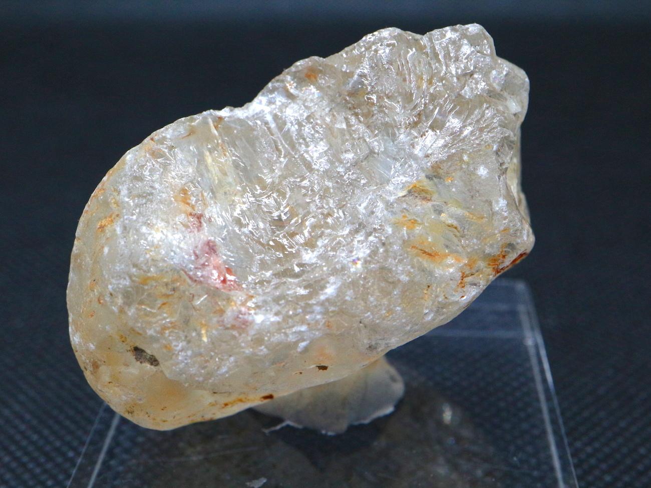 自然研磨!ブラジル産 トパーズ 85,7g TZ040 原石 標本 鉱物 パワーストーン