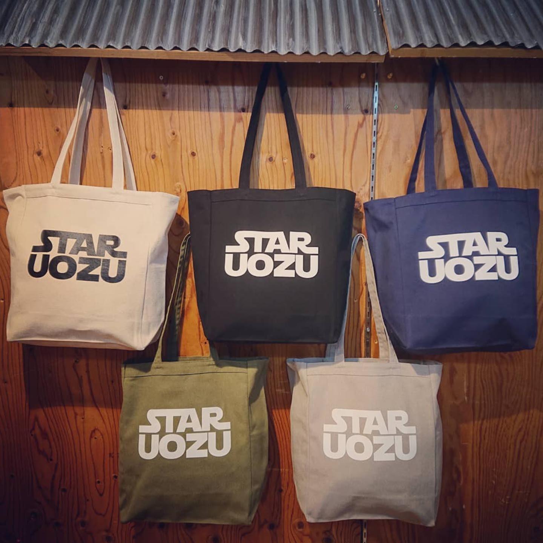STAR UOZU 「肉厚」帆布トートバッグ