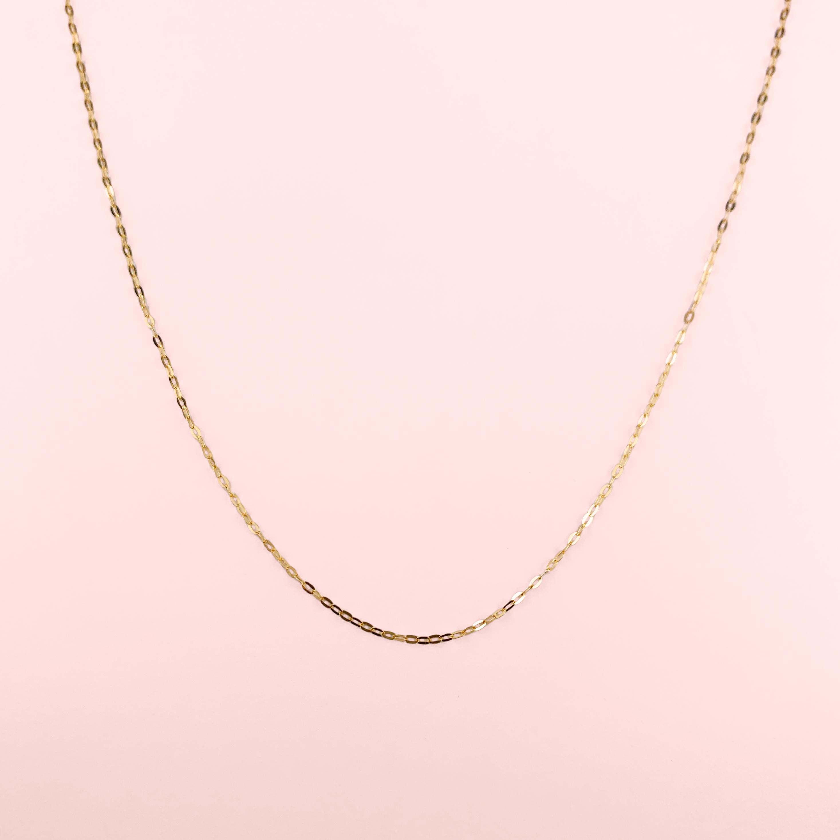 K18YG Necklace(45cm / アジャスター付き)