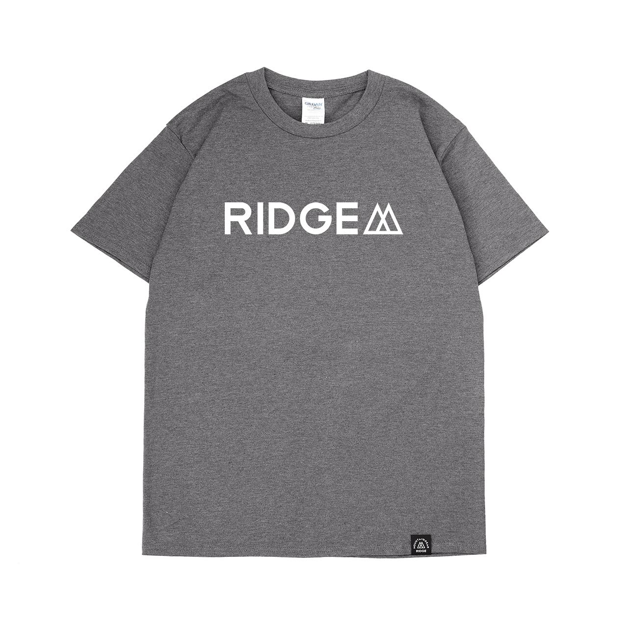"2019 Logo Print Tee  ""RIDGE"""