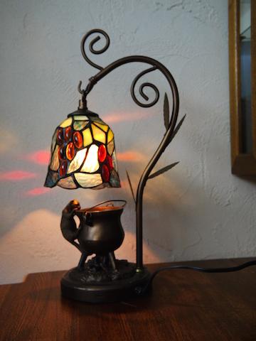 ステンド ベル ランプ 猫