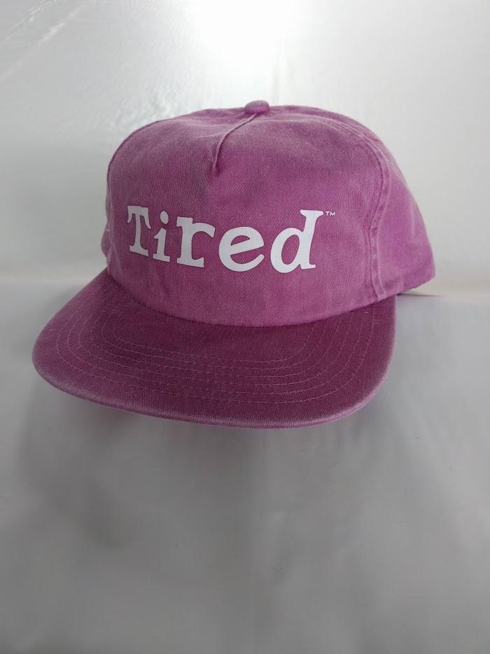 Tired(タイレッド)WASH LOGO HAT カラーLAVENDER