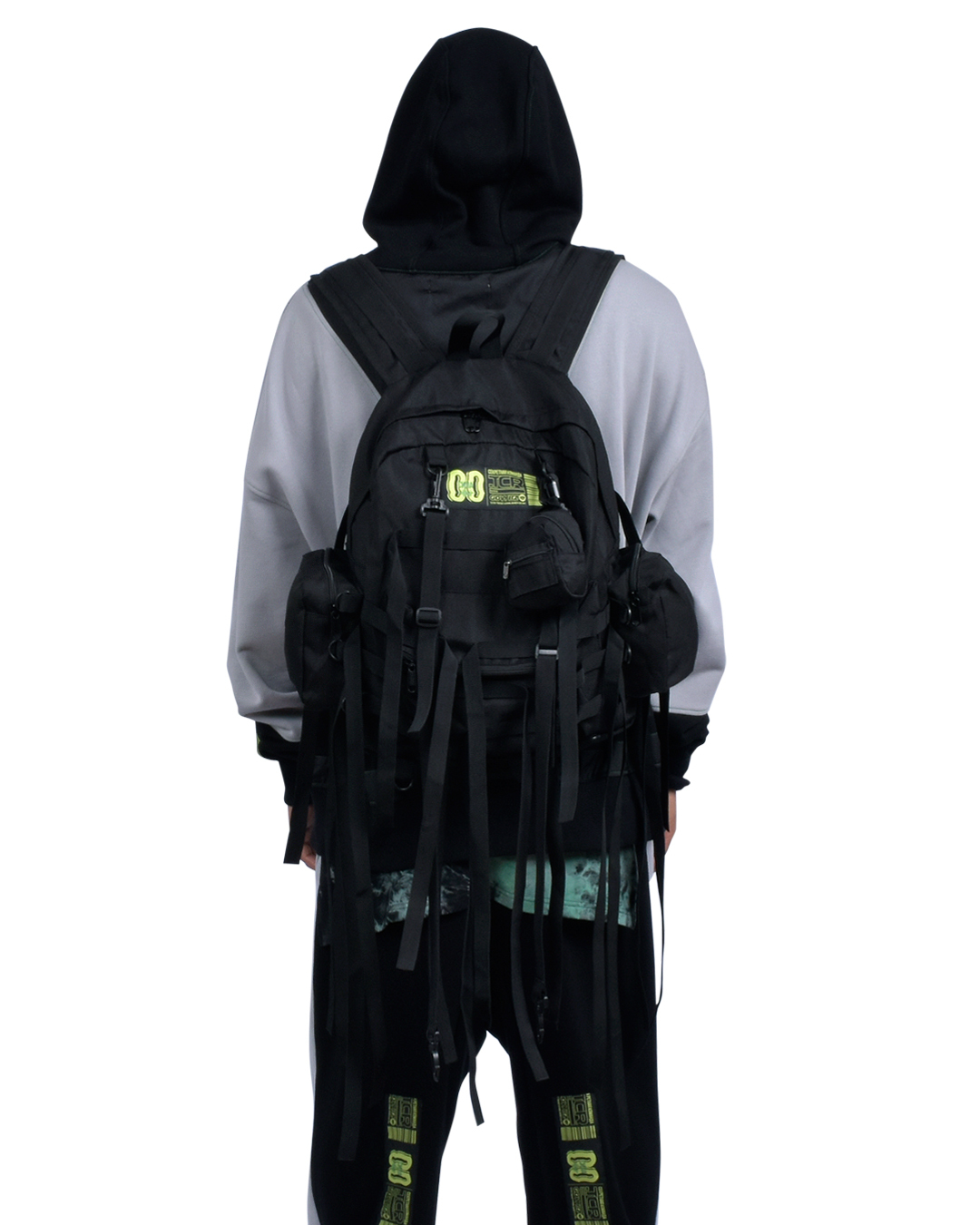 EQUIPMENT  MULUTI STRAP BACKPACK - BLACK