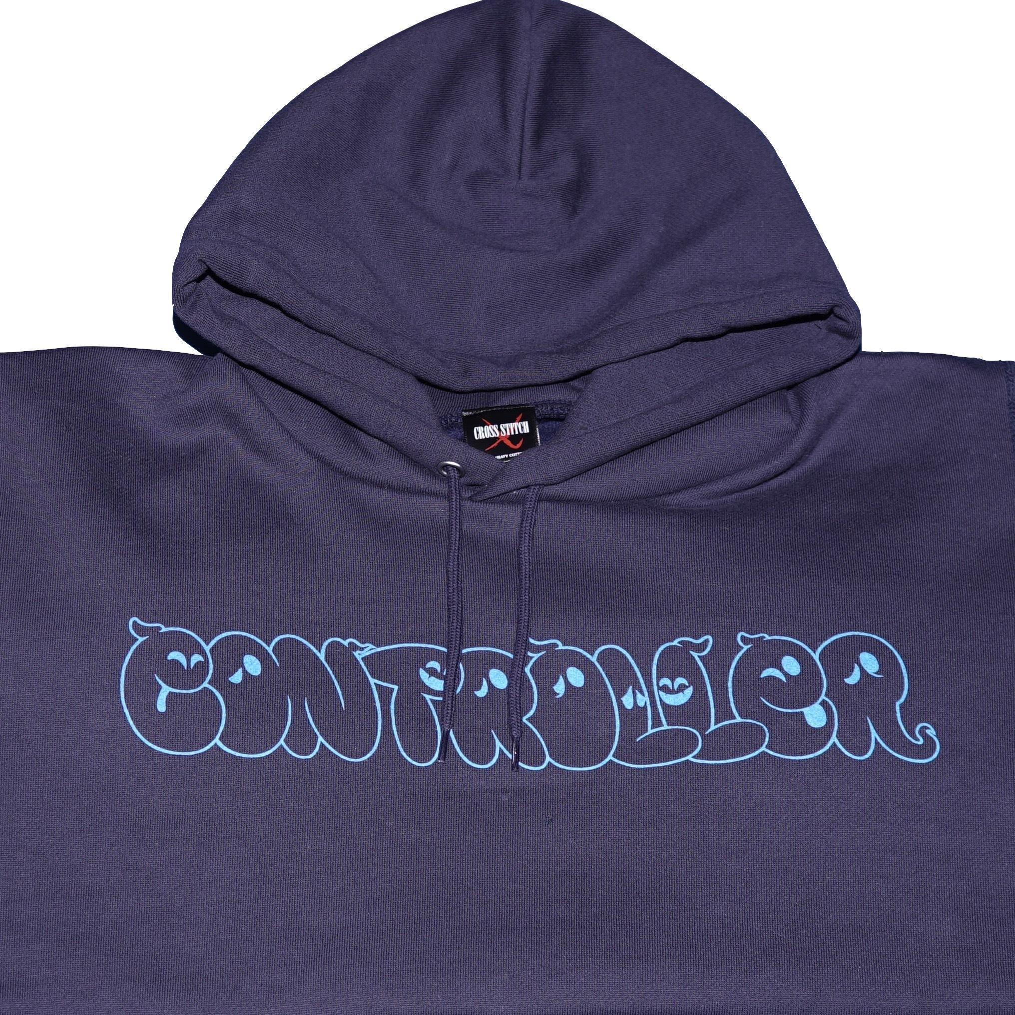 CONTROLLER / コントローラー ロゴ パーカー (ネイビー)