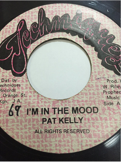 Pat Kelly (パット・ケリー) - I'm In The Mood【7'】