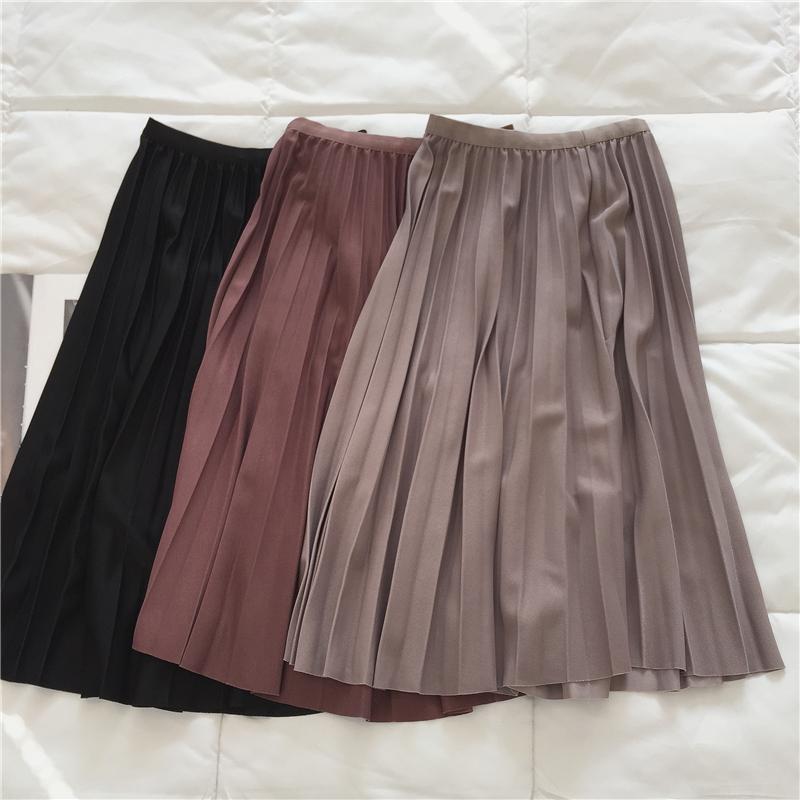 〈カフェシリーズ〉カフェプリーツスカート 【cafe pleats skirt】