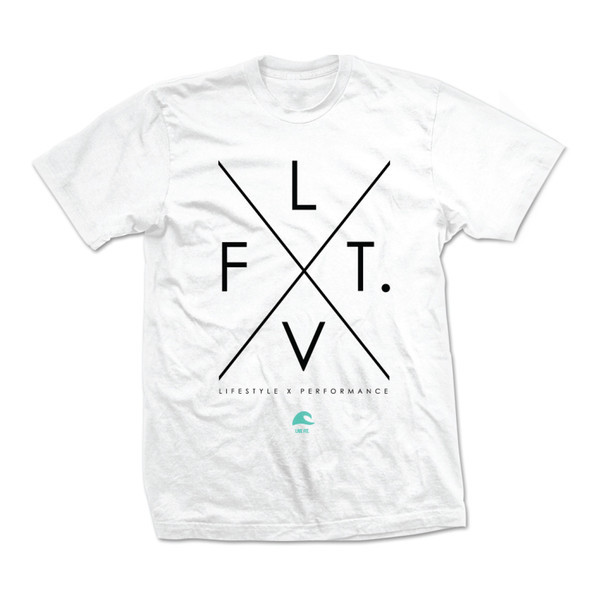 LVFT X Tee - White/Black/Teal VF1003