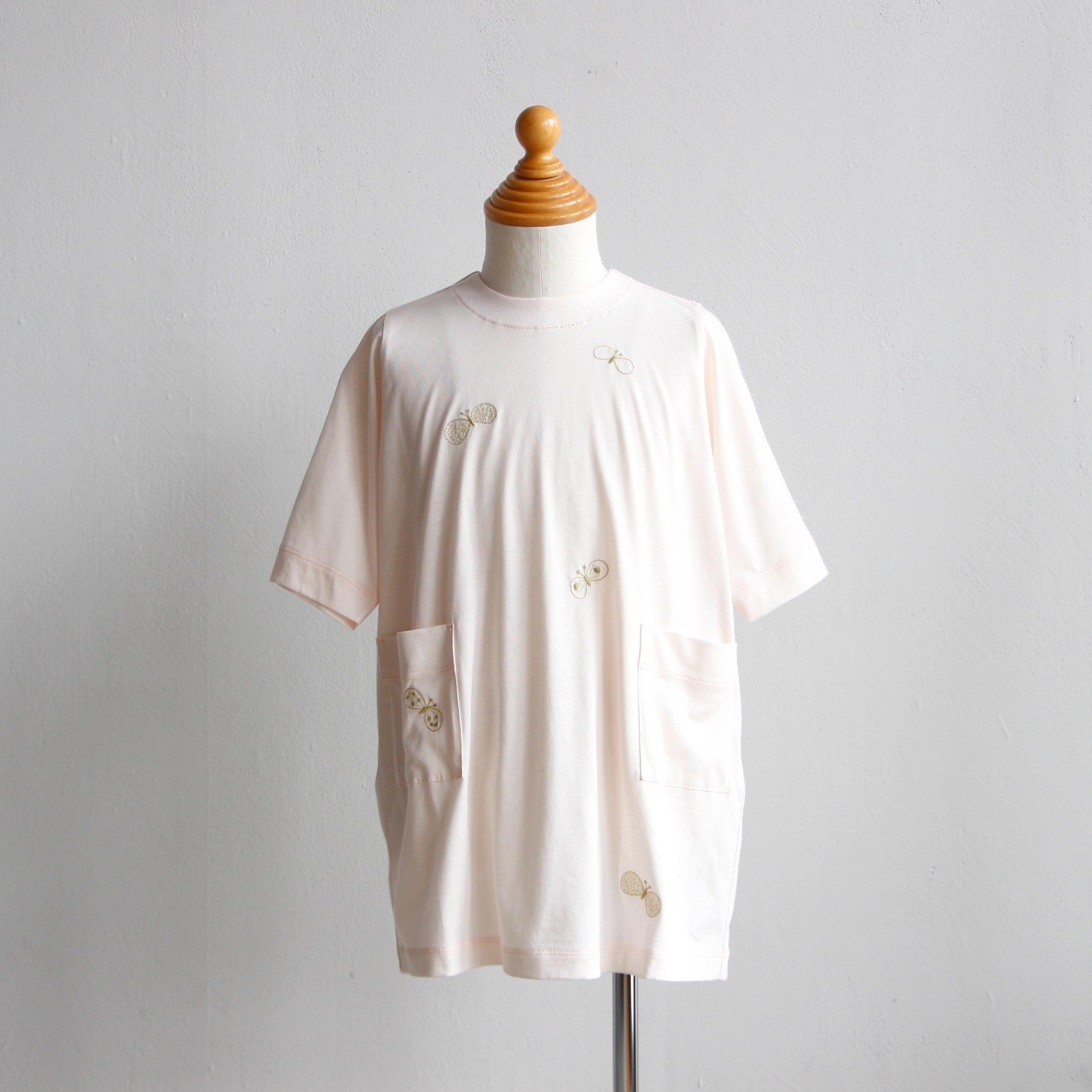 《mina perhonen 2019SS》choucho ワンピース / light pink / 110-130cm