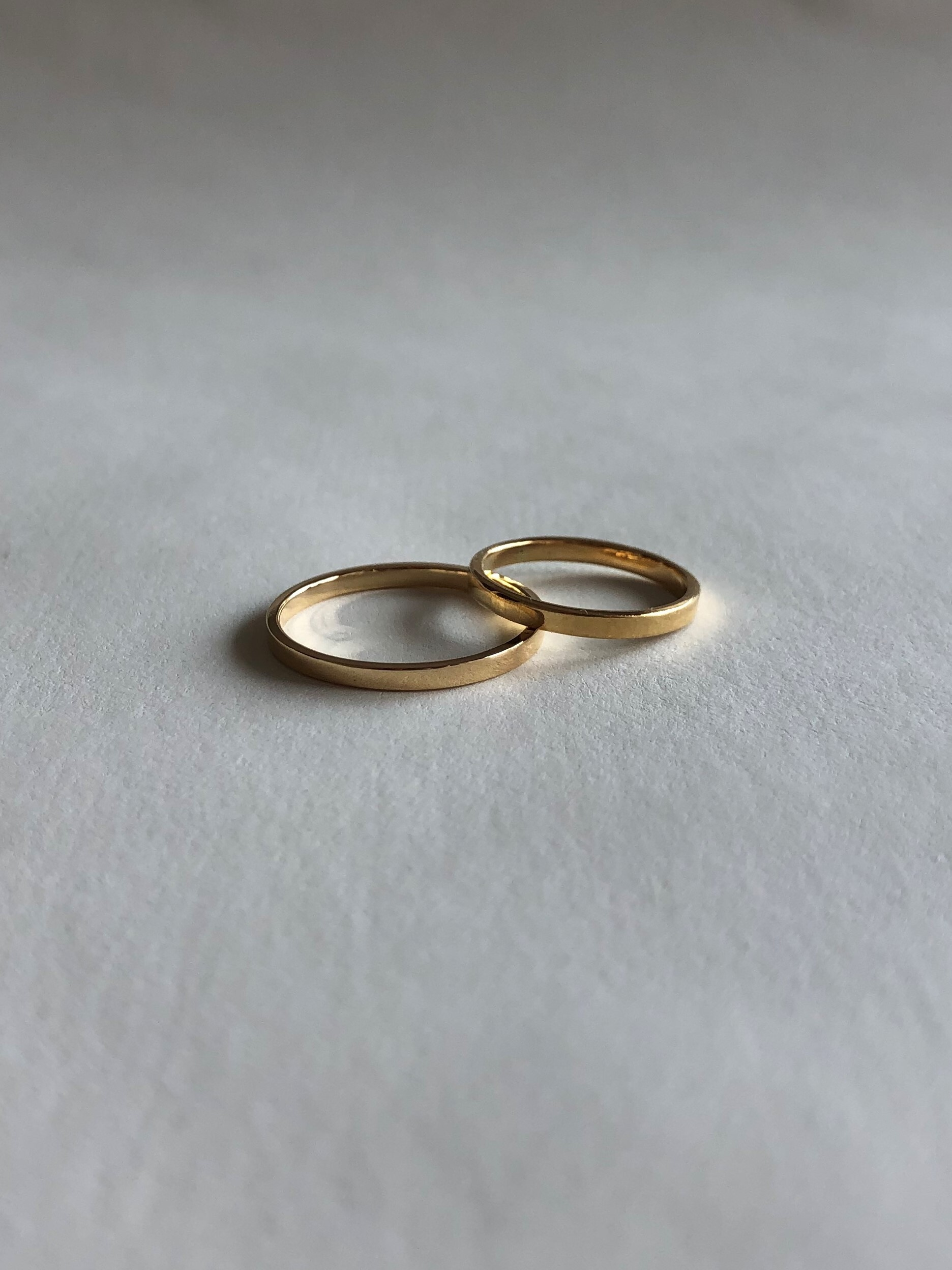 <受注生産>classic K18 ring (#7/9)