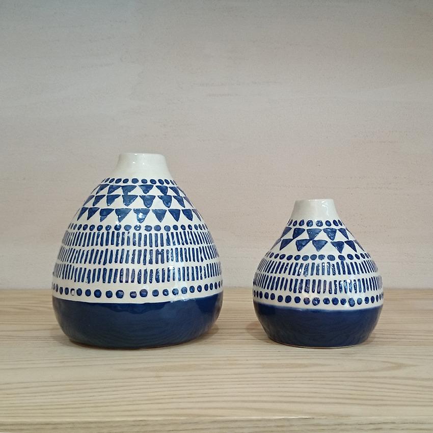 陶器 アステカオーバル 小