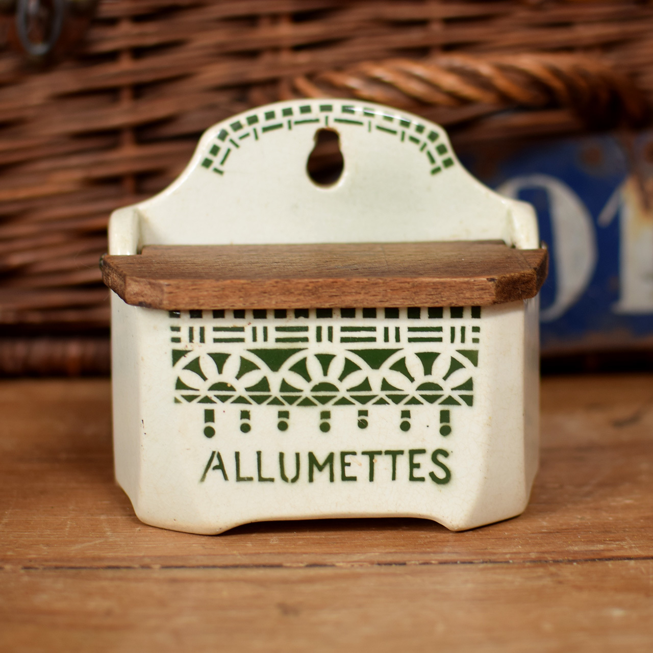 陶器 アリュメット缶