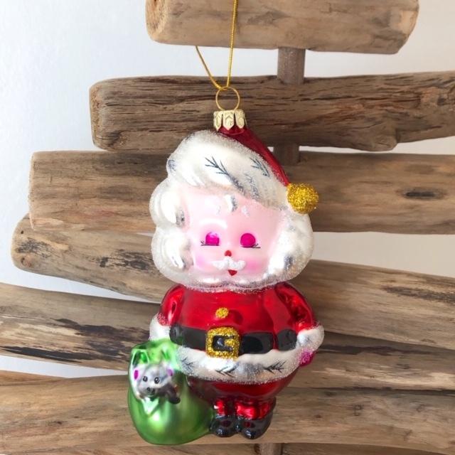 """Christmas Ornaments """"RETRO SANTA"""" クリスマスオーナメント"""