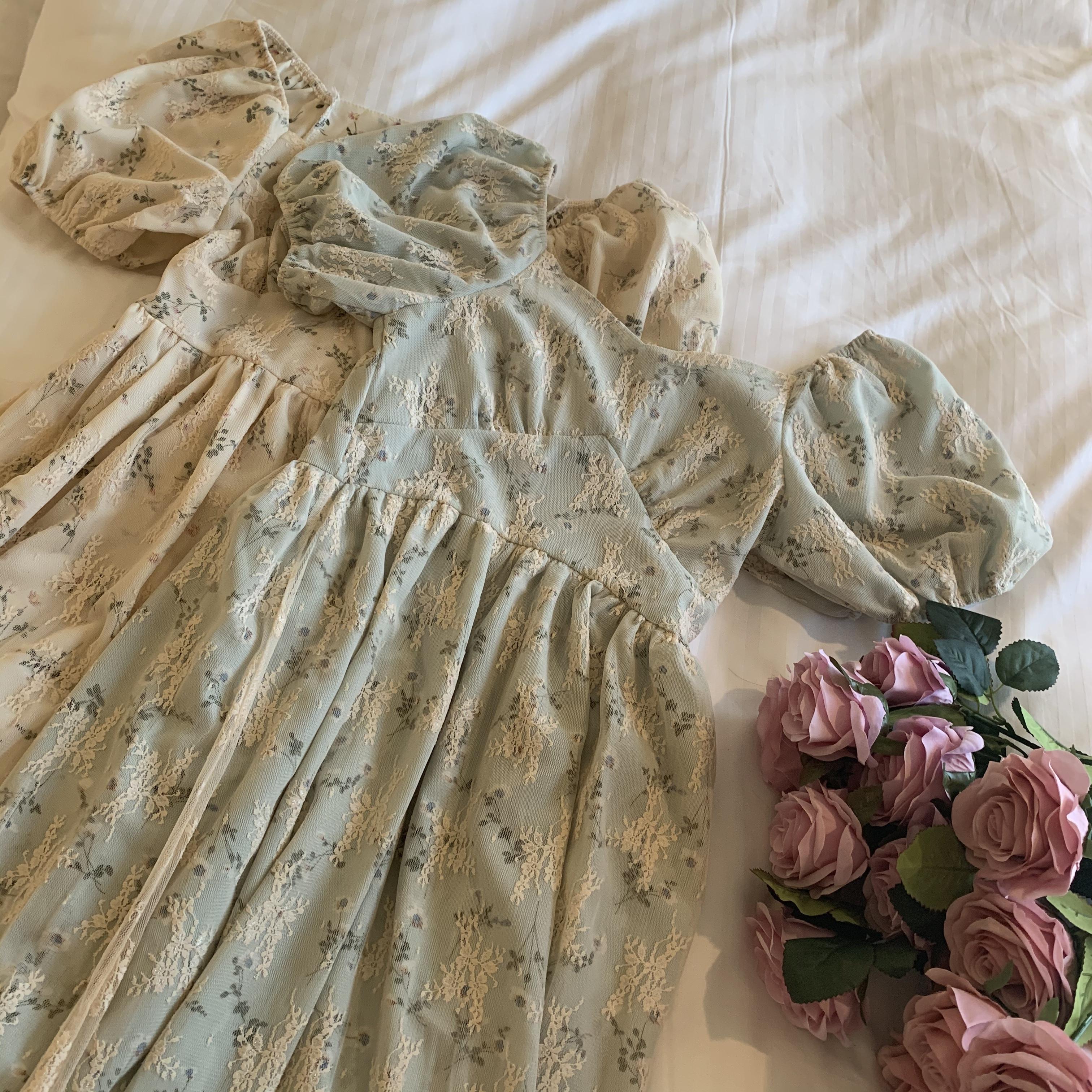 フレンチヴィンテージドレス